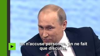 """Vladimir Poutine : """"Donald Trump est une personne haute en couleur"""""""
