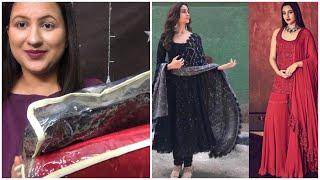 I tried bollywood Actress inspired Anarkali Suit, Sharara Suit Ethnicroop Alia Bhatt Sonakshi Sinha