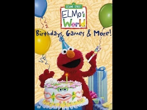 Download Opening To Elmo's World Birthdays Games And More 2001 DVD