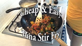 Easy & Tasty Tuna Stir Fry - Meal Prep Recipe # 1