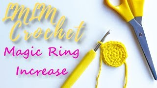 How to Increase iฑ the Magic Ring (Circle) for Beginners