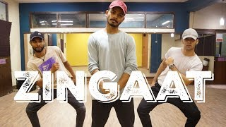Zingaat (Hindi) Dance Routine | Dhadak | Anmol, Rakesh & Shashank Choreography