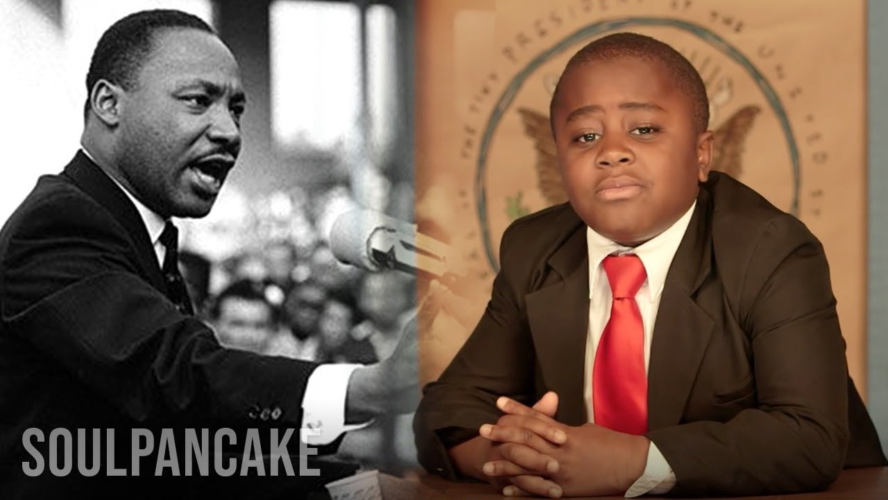 the story of martin luther king jr by kid president