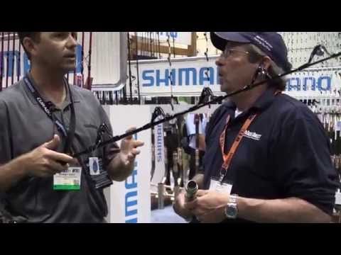 Shimano Terez New Edition With Carbon Short Straight At ICAST 2014