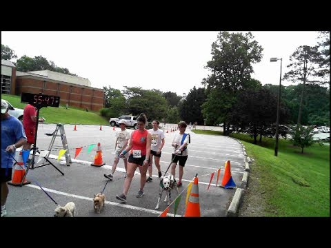 Mutt Strut 5K Finish Line Video