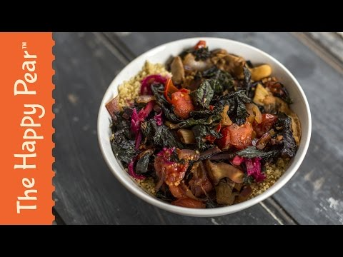 Kale Stir Fry | 5 Minutes VEGAN & Easy