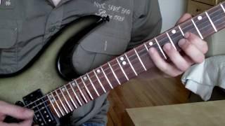 NO RETURN - Manipulated Mind - Rythm Guitar Cover