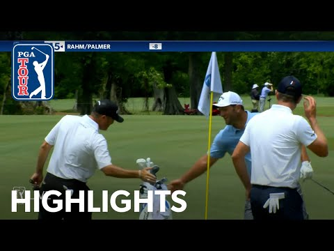 Jon Rahm holes out from bunker for birdie at Zurich Classic   2021