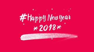 happy new year 2018 in advance video clip for whatsapp new year 2018