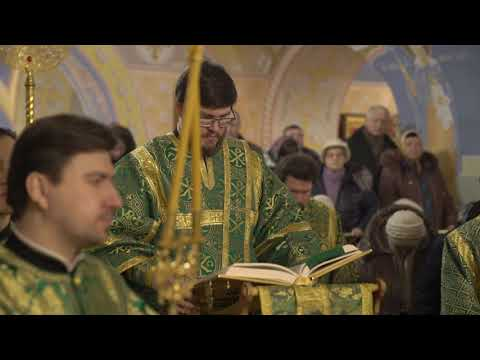 Епископ Фома возглавил престольный праздник в храме преп. Серафима Саровского на Филевской пойме