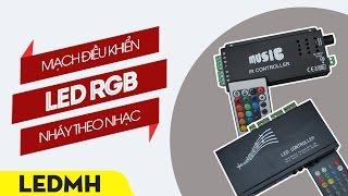 Mạch điều khiển LED RGB nháy theo nhạc 24A & 54A - [ http://ledminhha.vn ]