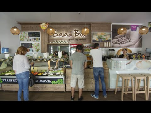 Salad Box Franchise Video