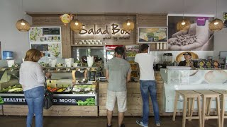Salad Box Franchise Video