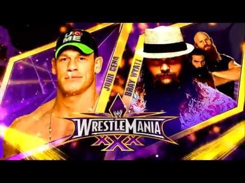 John Cena vs Bray Wyatt WrestleMania 30...