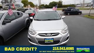 2014 Hyundai Accent, 100% Application Review Policy