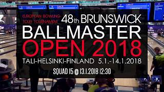 Ballmaster open 2018 - Squad 15