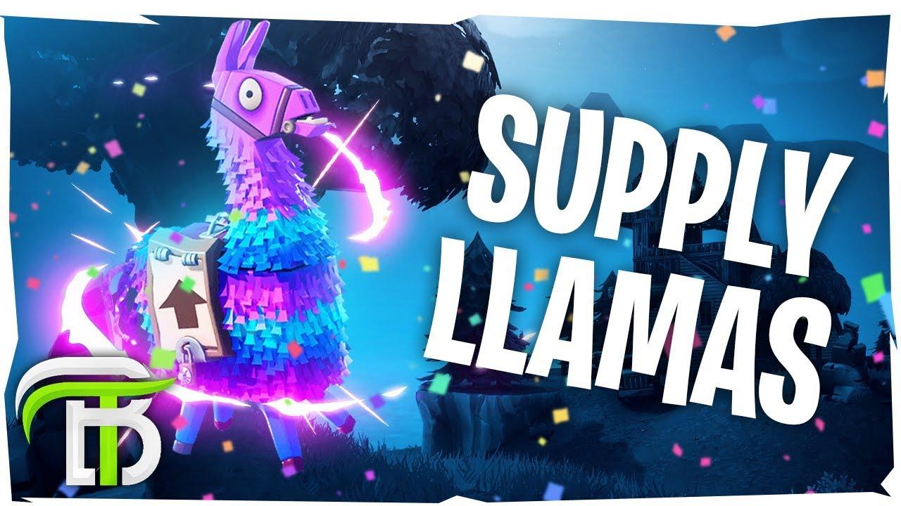 Interactive Llamas Coming To Fortnite Fortnite Battle Royale