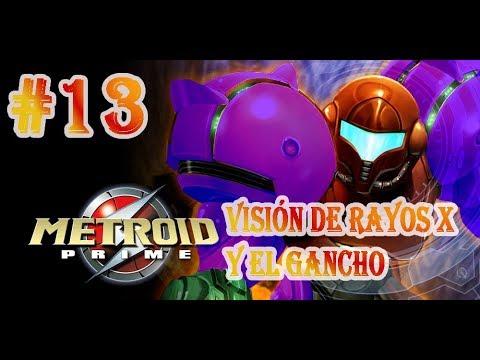 METROID PRIME Gameplay #13 EL GANCHO Y VISIÓN X #Operationsamusreturns #Nintendo