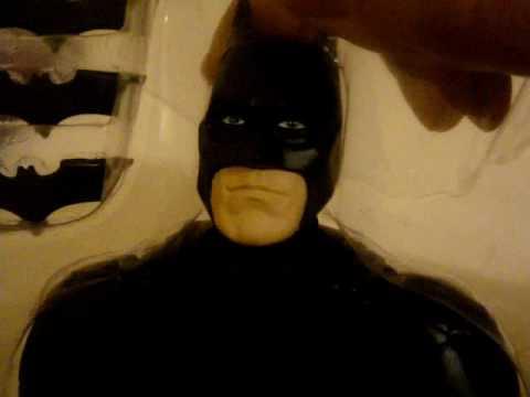 basement comics guy dark knight batman mattel 10 inch figure review