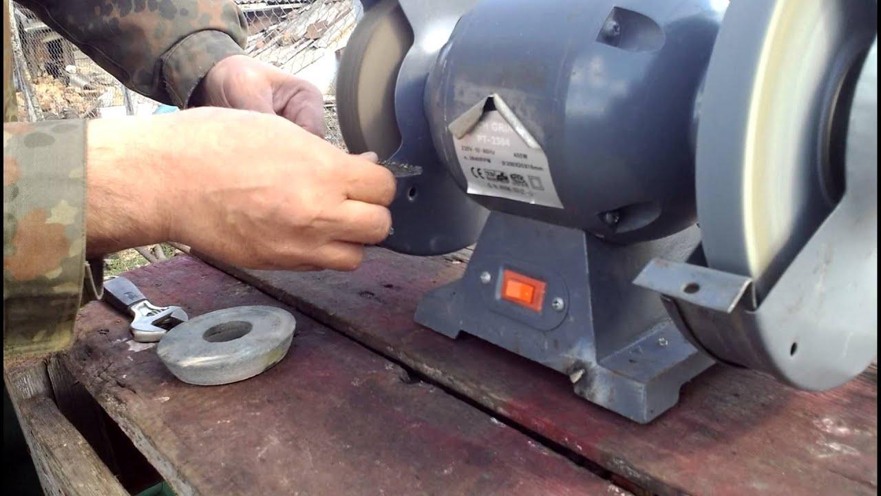 Войлочный круг для полировальной машины - YouTube