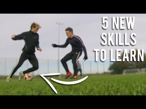 5 NEW SKILLS TO LEARN IN FOOTBALL