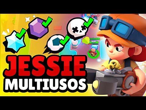 JESSIE ESTÁ FUERTE EN TODOS LOS MODOS DE JUEGO ¡¡ LIKE POR EL FINAL INESPERADO!! | Brawl Stars