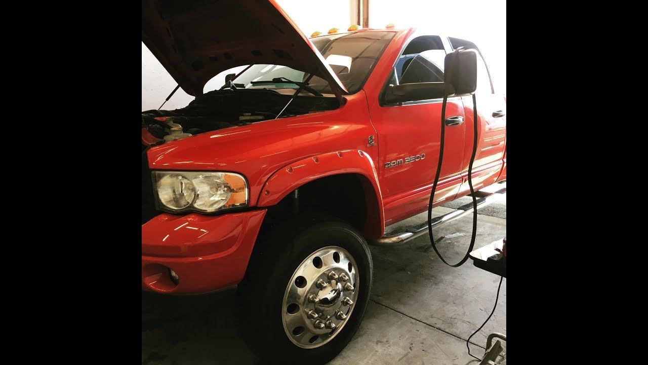 2017 Dodge 3500 >> 24v Cummins 5.9 AC Bypass 3rd Gen Ram - YouTube
