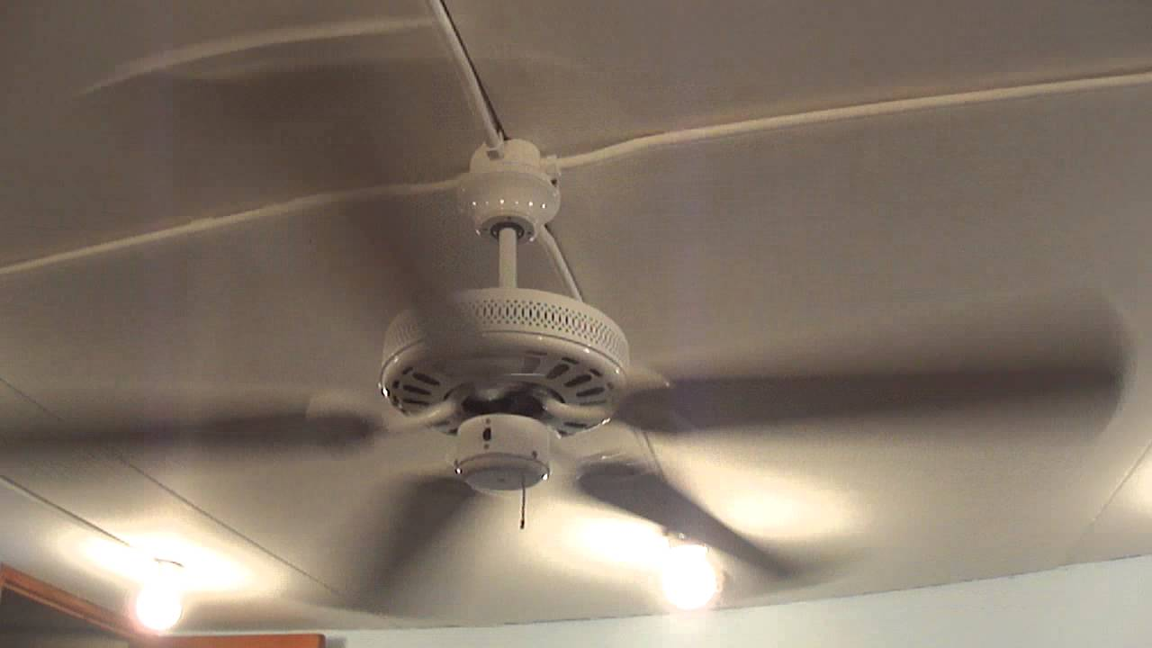 52 Quot Hampton Bay Landmark Ceiling Fan 1 Of 4 Youtube
