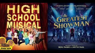 Download Lagu Zac Efron/Zendaya/Vanessa Hudgens - Rewrite the Stars & Breaking Free - HSM/The Greatest Showman Mp3