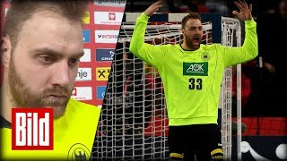 Deutschland vs Mazedonien - Andreas Wolff ist sauer / Handball-EM