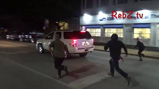 car attempts to plow through protesters in kirkwood mo hd edit convict jason stockley protest