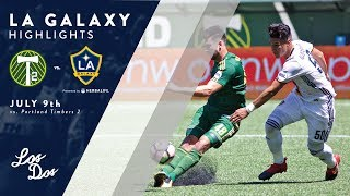 HIGHLIGHTS: LA Galaxy II vs. Portland Timbers 2 | July 9, 2017 thumbnail