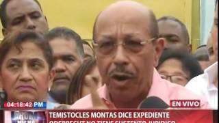 Temístocles Montás dice Ministerio Público no fue objetivo