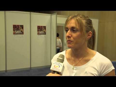 Sally Pearson - interview before Ostrava Golden Spike 2013