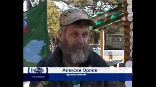 Велопутешественник Алексей Орлов.