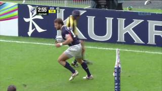 2010 Hong Kong IRB Sevens World Series Rugby USA VS Thailand 2/2