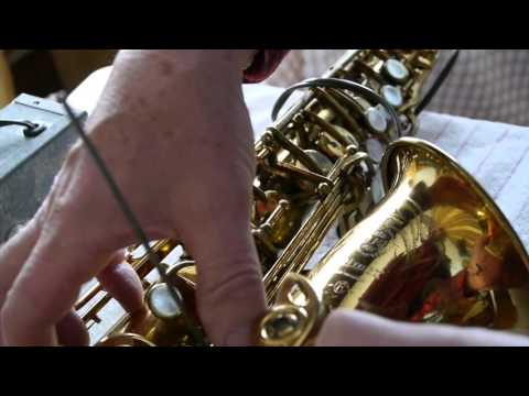 Saxophone Repair:  Leveling the pads