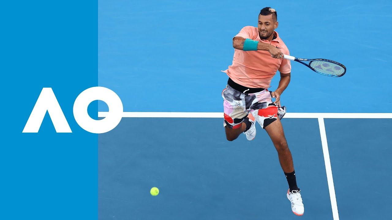 Nick Kyrgios vs Gilles Simon - Match Highlights (2R)   Australian Open 2020