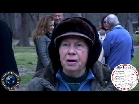 """Kentucky lady, """"Remembrance of Nancy Schaefer"""" Clarkesville."""