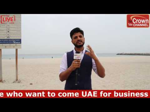 Share UAE Experience on Crown Immigration You-tube Channel