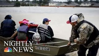 Houston Family Loses Six Loved Ones In Hurricane Harvey Flooding   NBC Nightly News