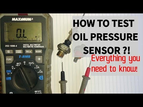 HOW TO TEST AN OIL PRESSURE SWITCH. Everything You Need To Know.