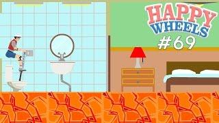 Happy Wheels Part 69 - LAVA FLOOR