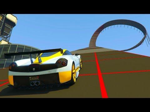 ACROBACIA IMPOSIBLE! - CARRERA GTA V ONLINE - GTA 5 ONLINE