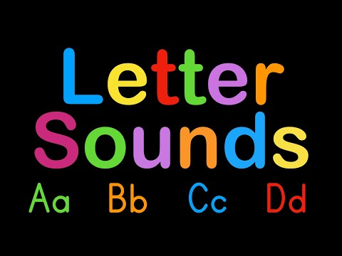 ABC Letter Sounds - Capital and Lowercase Alphabet - Learn to Read English with Phonics