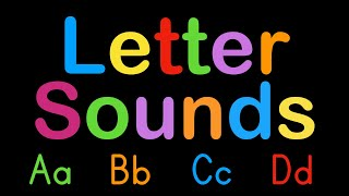 ABC Letter Sounds - Capİtal and Lowercase Alphabet - Learn to Read English with Phonics