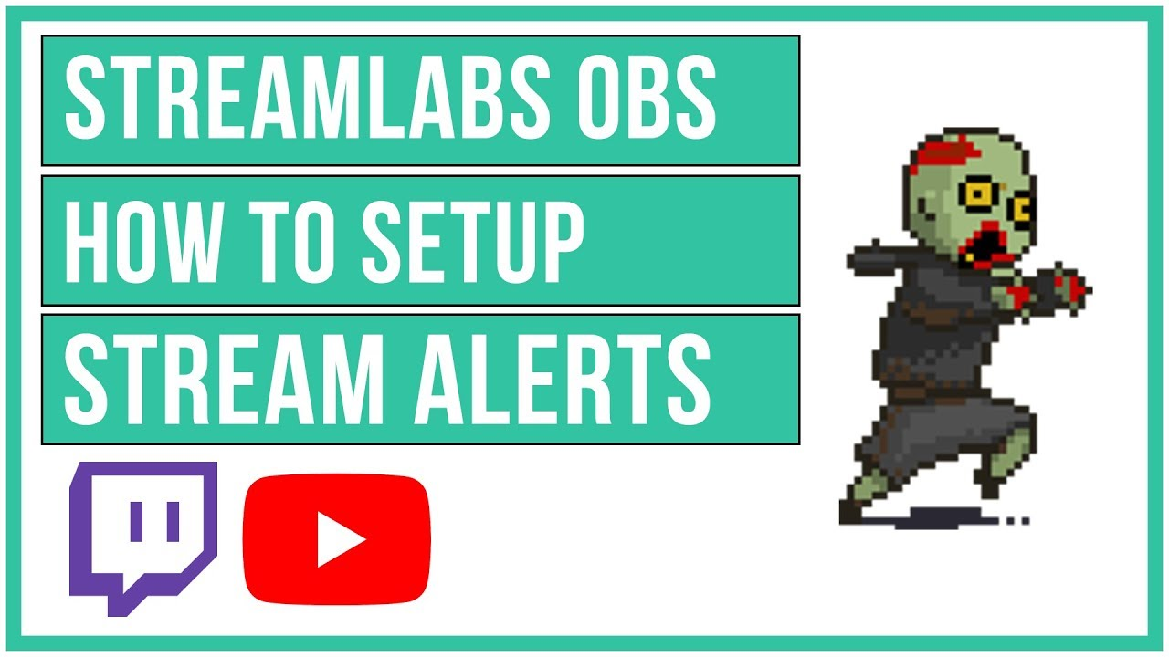 Streamlabs OBS - How To Setup Alerts For Followers, Donations, Subscribers,  and MORE 📢