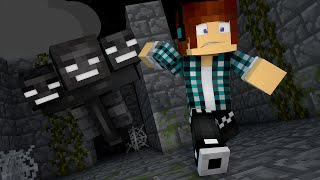 Minecraft : FUJA DO WITHER !! (Maze Runner Minecraft)