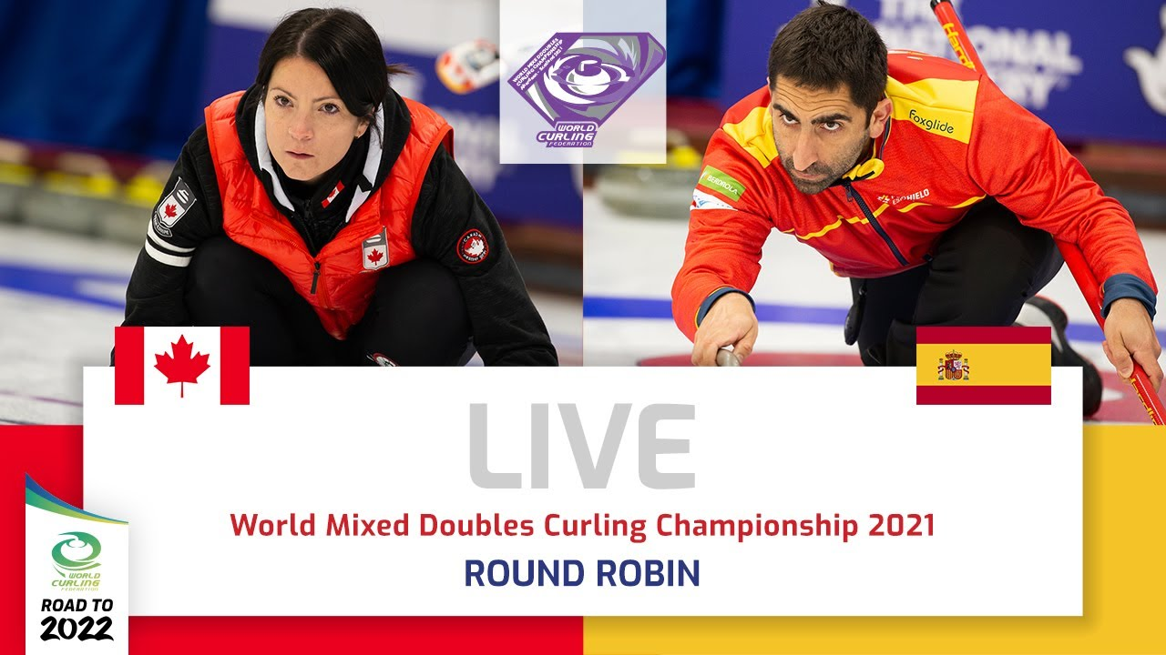 Canada v Spain - Round robin - World Mixed Doubles Curling Championship 2021 - скачать с YouTube бесплатно