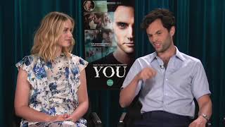Penn Badgley & Elizabeth Lail talk about YOU